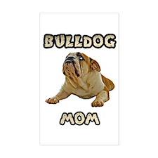 Bulldog Mom Decal