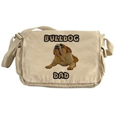 Bulldog Dad Messenger Bag