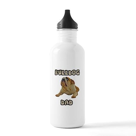 Bulldog Dad Stainless Water Bottle 1.0L