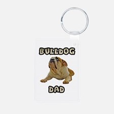 Bulldog Dad Keychains