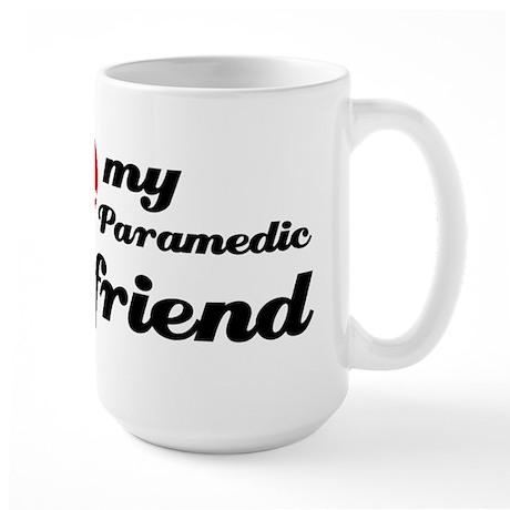 I love my Paramedic Boyfriend Large Mug