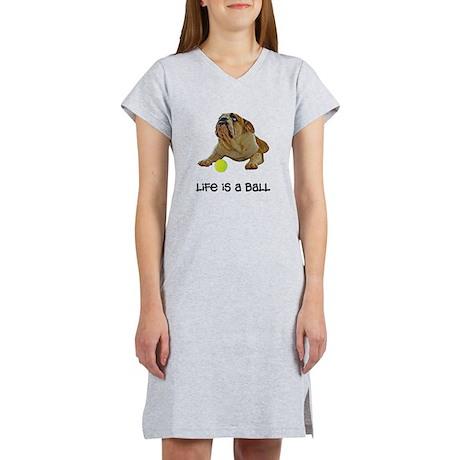 Bulldog Life Women's Nightshirt