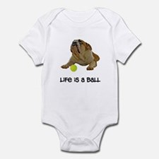 Bulldog Life Infant Bodysuit