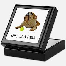 Bulldog Life Keepsake Box