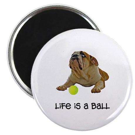 Bulldog Life Magnet