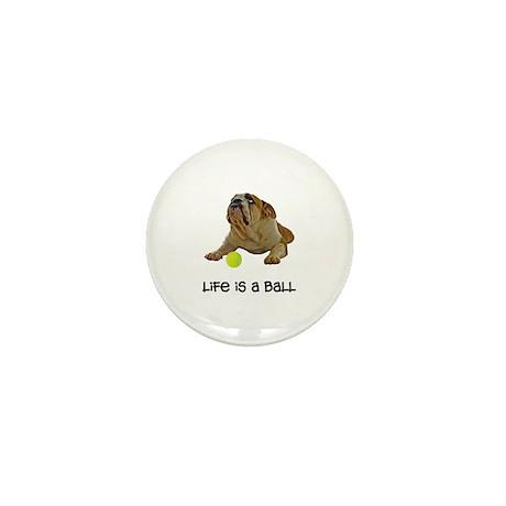 Bulldog Life Mini Button