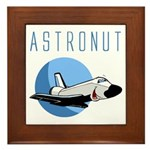 The Astronut's Framed Tile