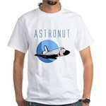 The Astronut's White T-Shirt