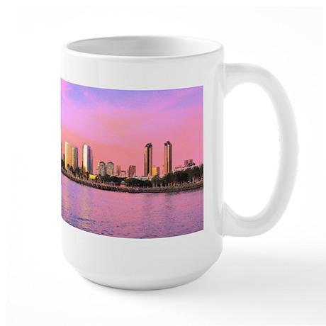 SAN DIEGO SKYLINE Large Mug
