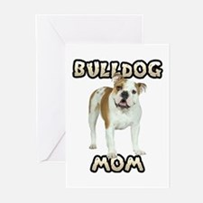Bulldog Mom Greeting Cards (Pk of 10)