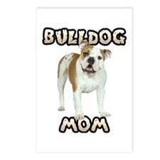 Bulldog Mom Postcards (Package of 8)