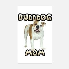 Bulldog Mom Decal