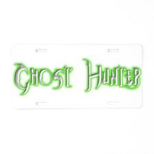 Paranormal investigators Aluminum License Plate