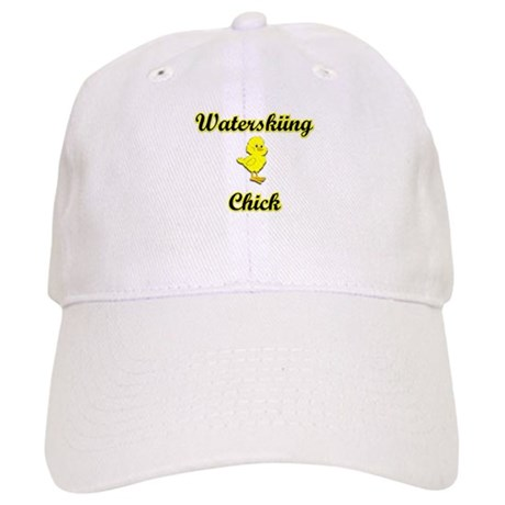 Waterskiing Chick Cap