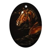 Horse Oval Ornaments