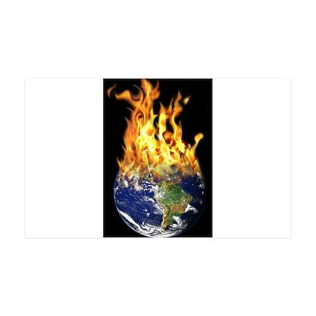 Burning world 38.5 x 24.5 Wall Peel