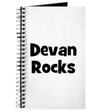 Devan Rocks Journal