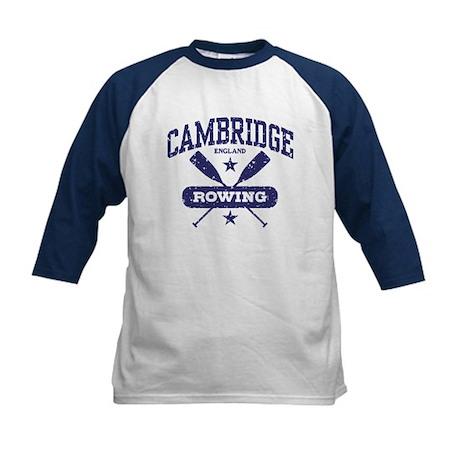 Cambridge England Rowing Kids Baseball Jersey