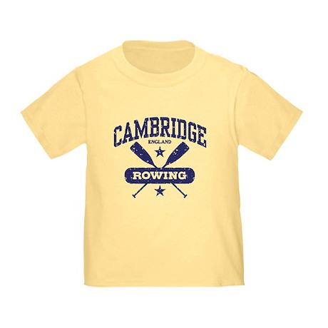 Cambridge England Rowing Toddler T-Shirt