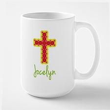 Jocelyn Bubble Cross Ceramic Mugs