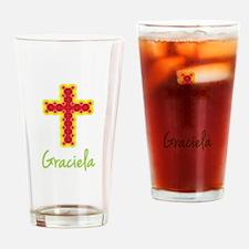 Graciela Bubble Cross Drinking Glass