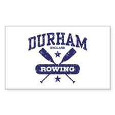 Durham England Rowing Decal