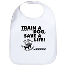 Train a dog, Save a Life! Bib
