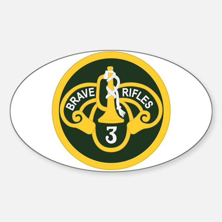 3rd Armored Cavalry Decal