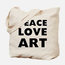 Peace Art Tote Bag