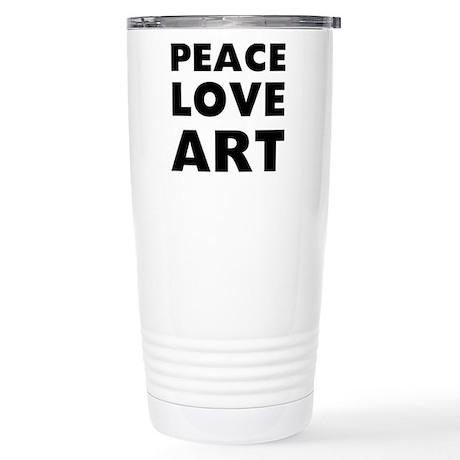 Peace Art Stainless Steel Travel Mug