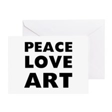 Peace Art Greeting Card