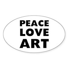 Peace Art Decal
