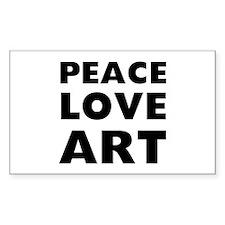 Peace Art Decal