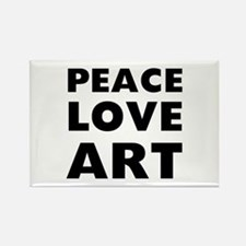 Peace Art Rectangle Magnet