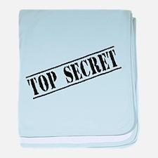 Top Secret baby blanket