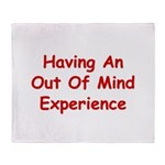 Out Of Mind Experience Throw Blanket