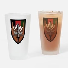 US Forces Afghanistan Drinking Glass