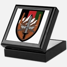 US Forces Afghanistan Keepsake Box