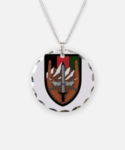US Forces Afghanistan Necklace