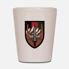 US Forces Afghanistan Shot Glass