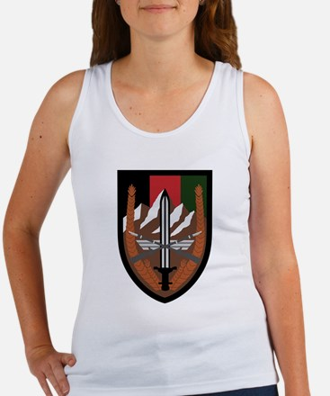 US Forces Afghanistan Women's Tank Top