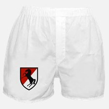 11th Armored Cavalry Boxer Shorts