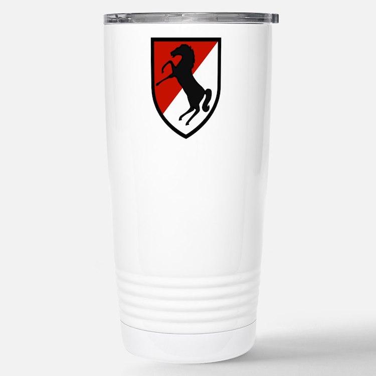 11th Armored Cavalry Travel Mug