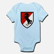 11th Armored Cavalry Infant Bodysuit