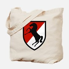 11th Armored Cavalry Tote Bag