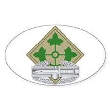 4th Infantry CAB Decal