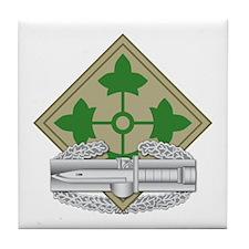 4th Infantry CAB Tile Coaster