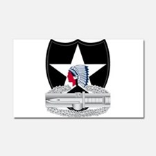 2nd Infantry CAB Car Magnet 20 x 12
