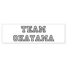 Team Okayama Bumper Bumper Sticker