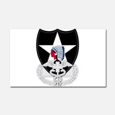 2nd Infantry CFMB Car Magnet 20 x 12